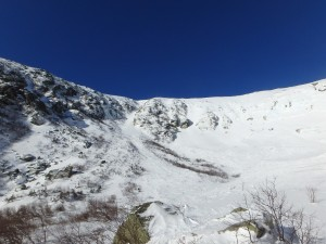 Left Gully and the Chute